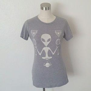 Vintage alien t